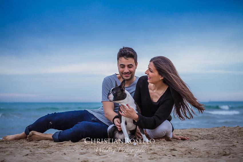 Pre Boda en Playa de Alboraya Valencia, Natalia e Iván. Christian Roselló Fotógrafo de Bodas con sede en Valencia