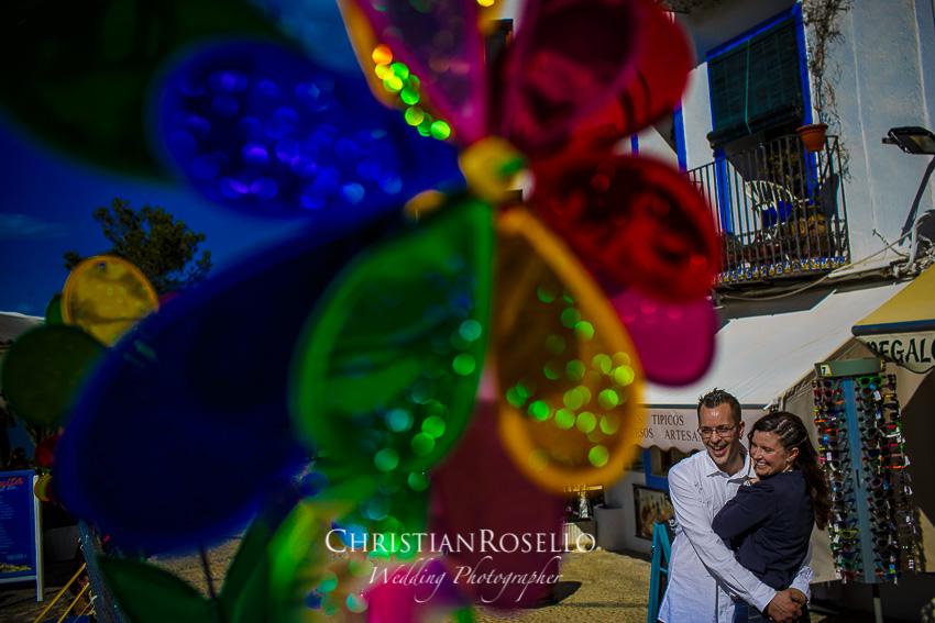 Pre Boda en Peñíscola Castellón, Adela y Eden. Christian Roselló Fotógrafo de Bodas con sede en Valencia.e en Valencia.