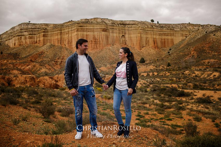 Pre Boda en Teruel, Rambla Barrachina, Mª Jesus y Oscar. Christian Roselló Fotografo de Bodas en Teruel, con sede en Valencia