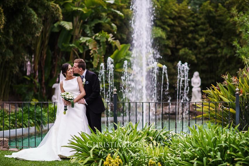 Boda en Jardines La Hacienda El Puig Valencia, Laura y Salva. Christian Roselló Fotógrafo de Bodas con sede en Valencia
