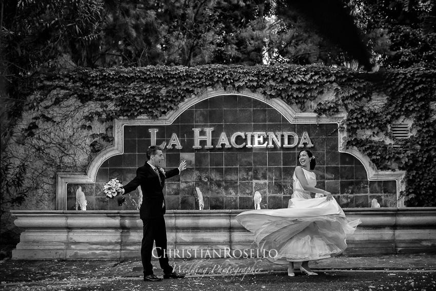 Boda en los Jardines La Hacienda El Puig Valencia, Laura y Salva. Christian Roselló Fotógrafo de Bodas con sede en Valencia