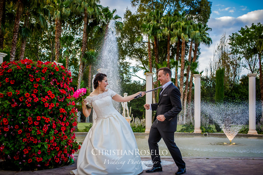 Christian rosell fot grafo de bodas en valencia mar a for Jardines la hacienda el puig