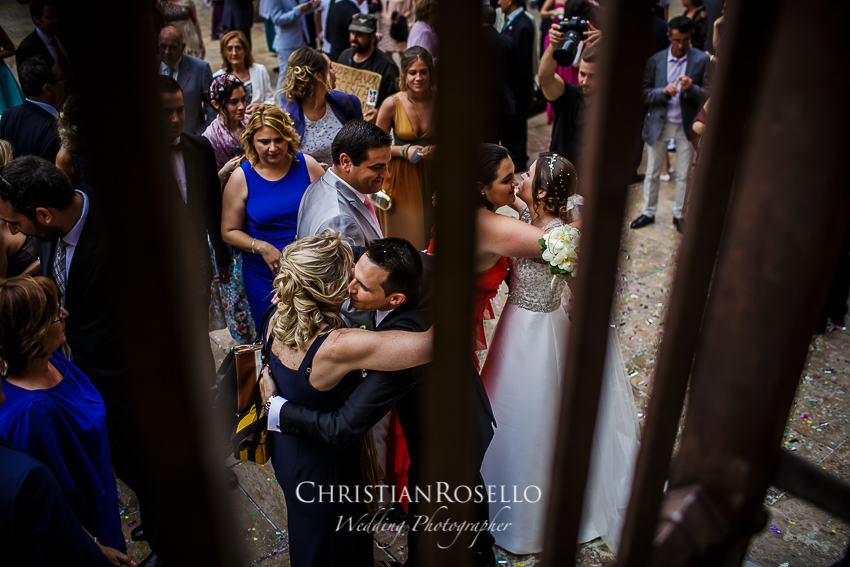 Boda en Capilla Santo Caliz Catedral de Valencia, Melanie y Alberto. Christian Roselló Fotografo de Bodas Nacional e Internacional con sede en Valencia.