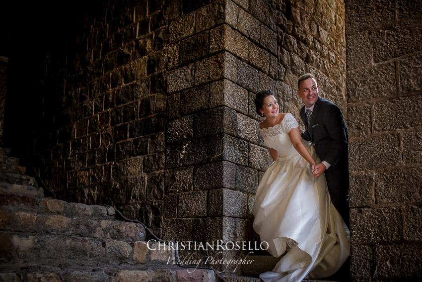 en la Playa de Valencia, Teatro Romano y Castillo de Sagunto, Maria y Alberto. Christian Roselló Fotógrafo de Bodas con sede en Valencia