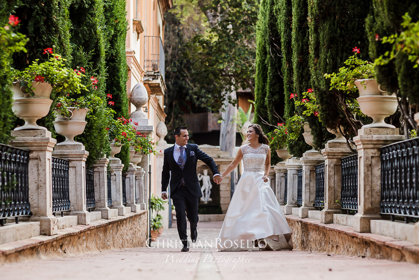 Christian rosell fot grafo de bodas en valencia post for Jardines monforte
