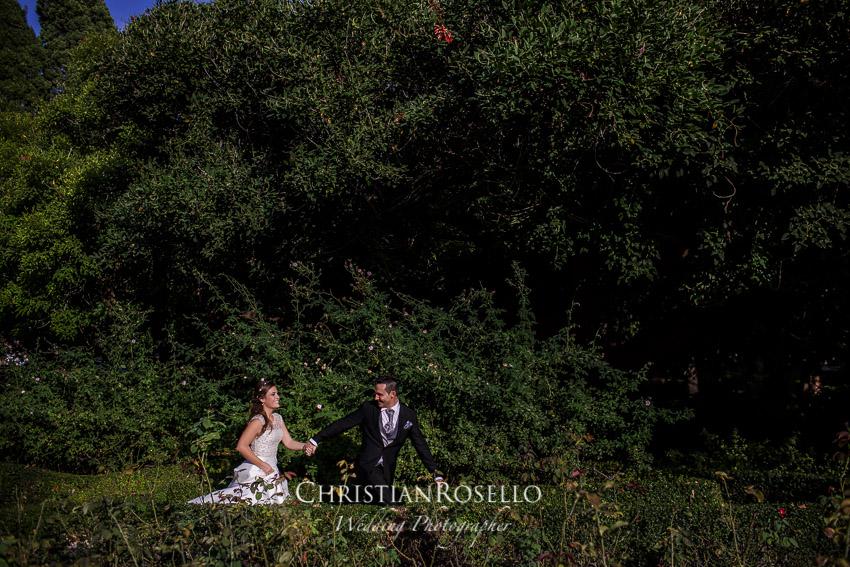Post Boda en Jardines de Monforte, Melanie y Alberto. Christian Roselló Fotógrafo de Bodas Internacional, con sede en Valencia