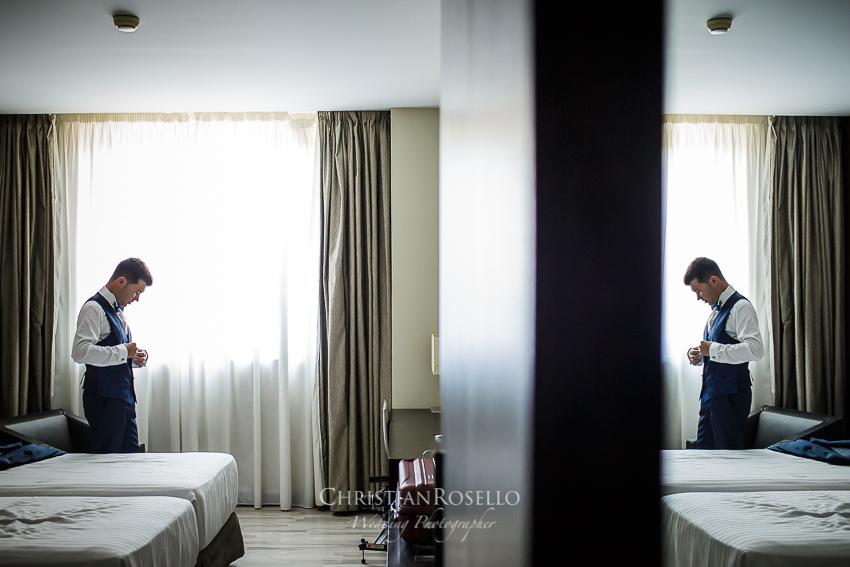 Reportaje Boda en el Huerto Santa María El Puig Valencia. Hotel NH Puerto Sagunto. Olga y David. Christian Roselló Fotógrafo de Bodas en Valencia.