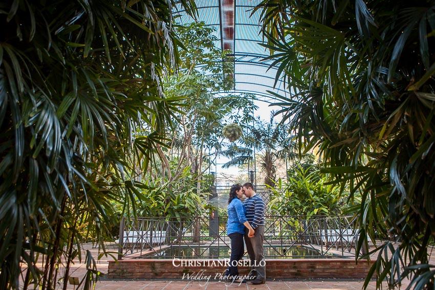 Christian rosell fot grafo de bodas en valencia laura - Jardin botanico valencia ...