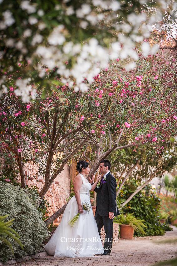 Christian rosell fot grafo de bodas en valencia nuria for Jardines de la cartuja